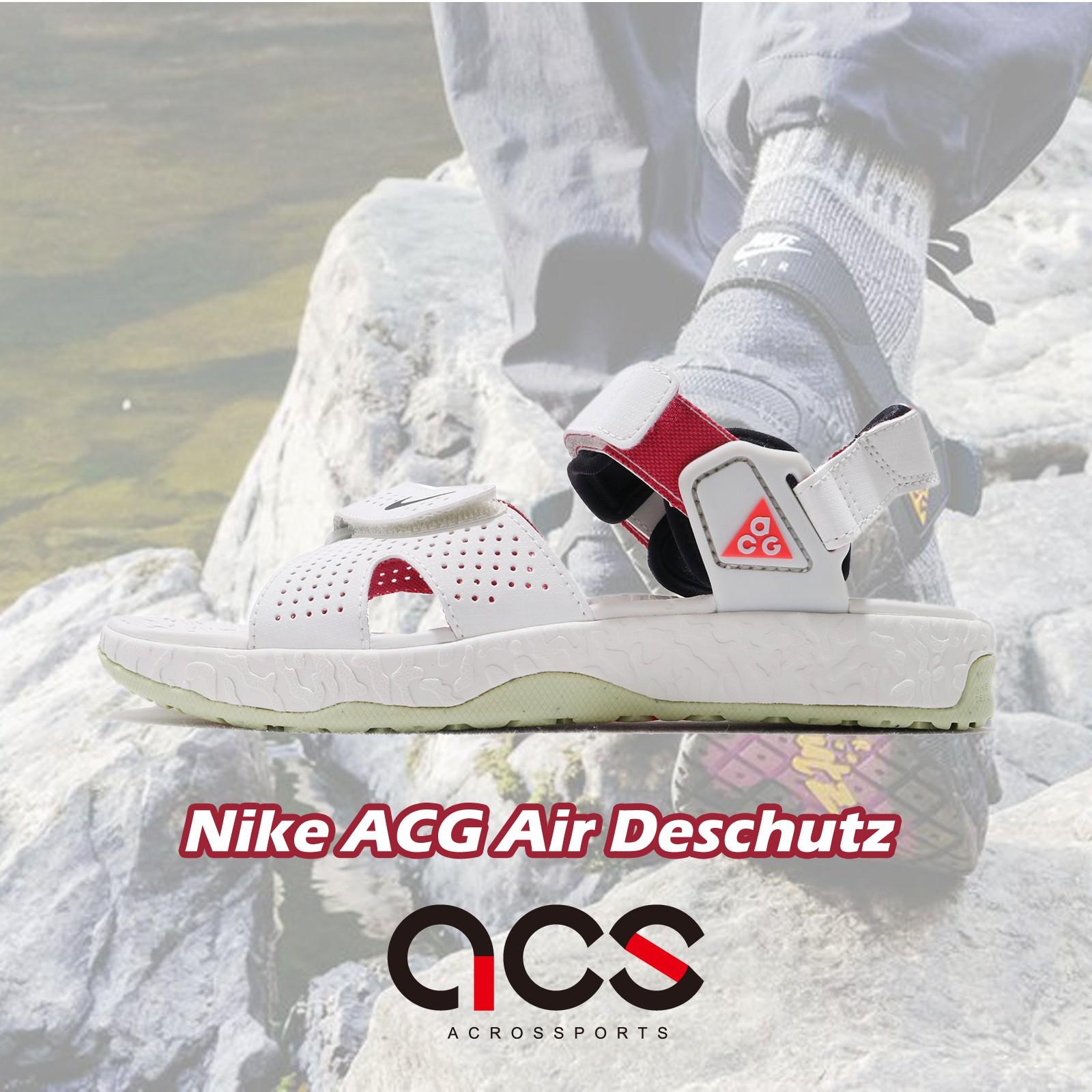 Nike ACG Air Deschutz 涼鞋 白 紫紅 綠底 男鞋 女鞋 戶外風格 【ACS】 CT2890-001