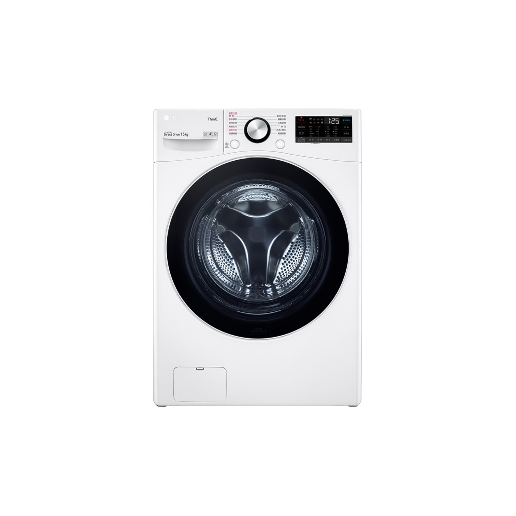 LG 樂金 WD-S15TBW+WR-90VW滾筒洗衣機(蒸洗脫)免曬衣機送雙耳鍋、風扇黑色、樂美雅餐具