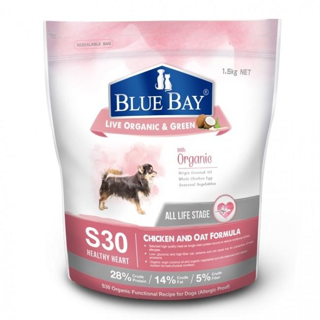 倍力 狗飼料 S30 雞肉+燕麥1.5kg 心血管保健低敏配方 全齡犬飼料 幼犬飼料 老犬飼料
