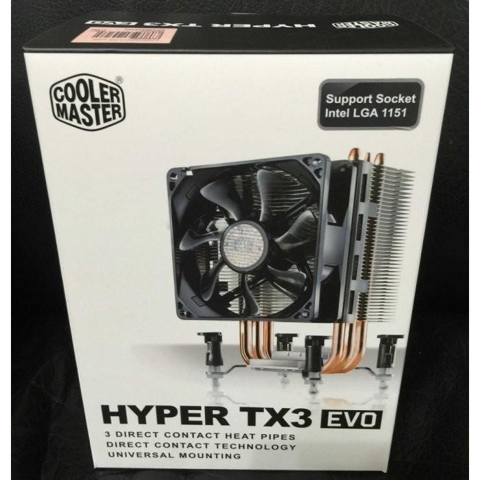 小薇電腦☆淡水@酷碼Cooler Master Hyper TX3 EVO 塔型散熱導管 CPU散熱 690元
