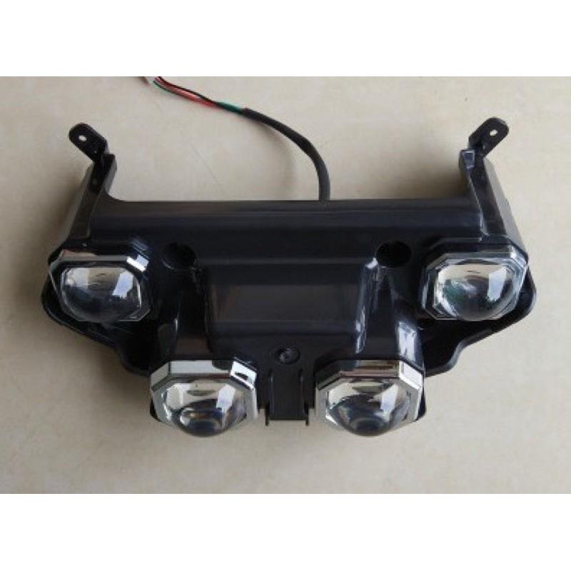 戰狼電動車  大燈組 Lampu depan motor listrik YHC Ebike headlights