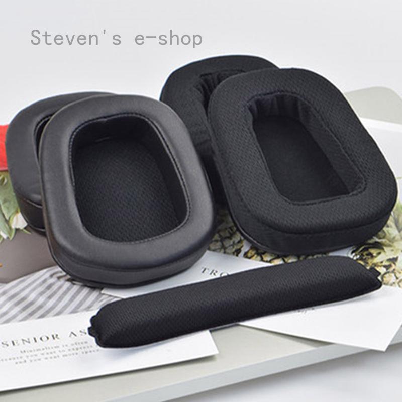 Steven 的電子商店替換耳罩耳罩杯蓋墊耳墊頭帶, 用於 Logitech G533 G933 G633 G533 6