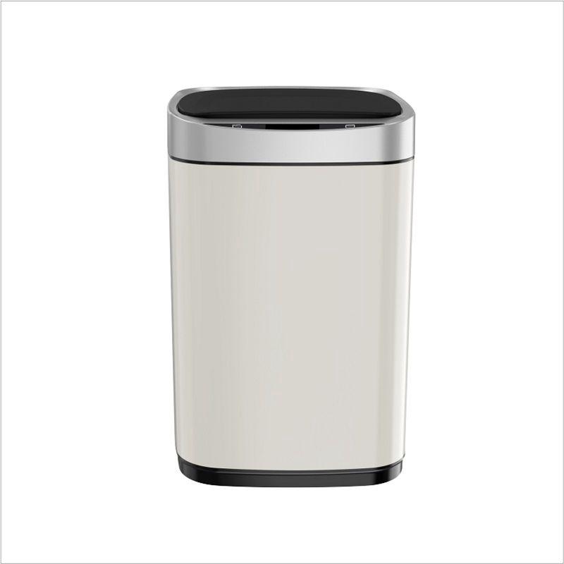 限時特惠智能垃圾桶自動感應不鏽鋼垃圾桶廚房衛生間家用大號充電有蓋1