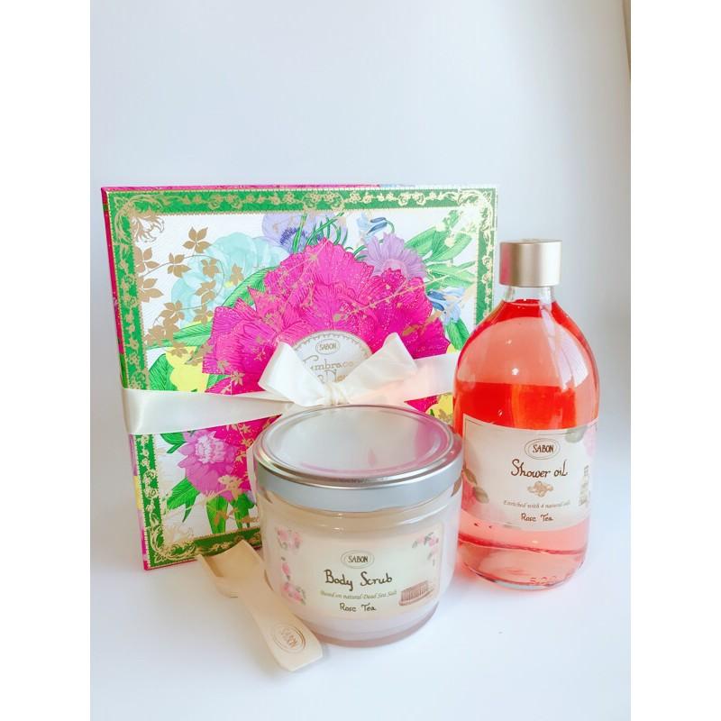 ❤️專櫃現貨❤️ Sabon身體磨砂膏600g 綠玫瑰/白茶/經典/茉莉/玫瑰茶語