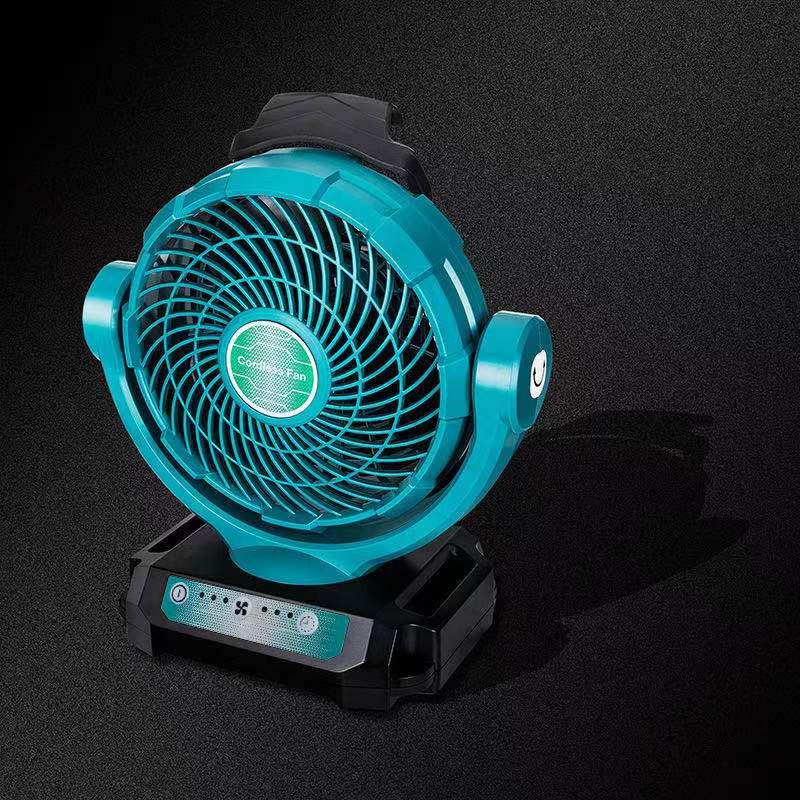 臺灣現貨 電風扇 鋰電 18v 通用於牧田得偉博世米沃奇18v電池的風扇