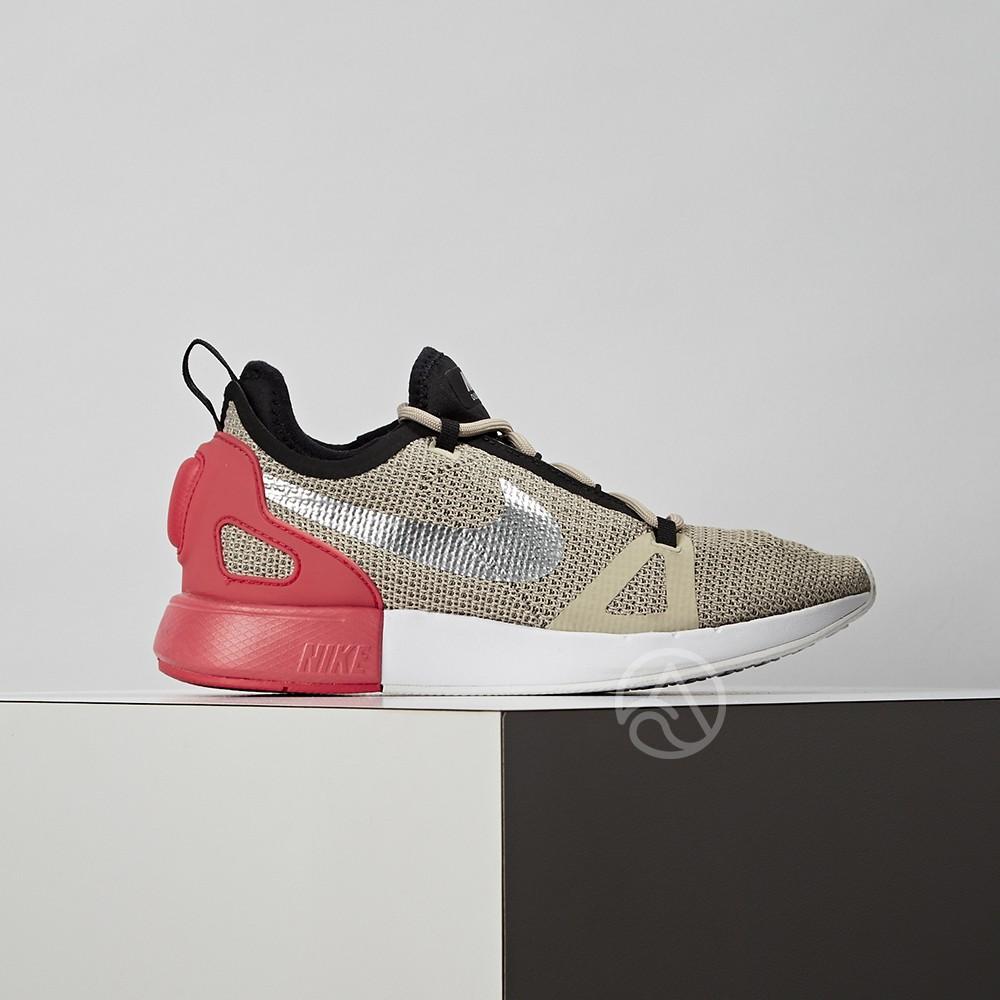 Nike Duel Racer 女鞋 卡其 網布 慢跑鞋 927243-201 微瑕疵
