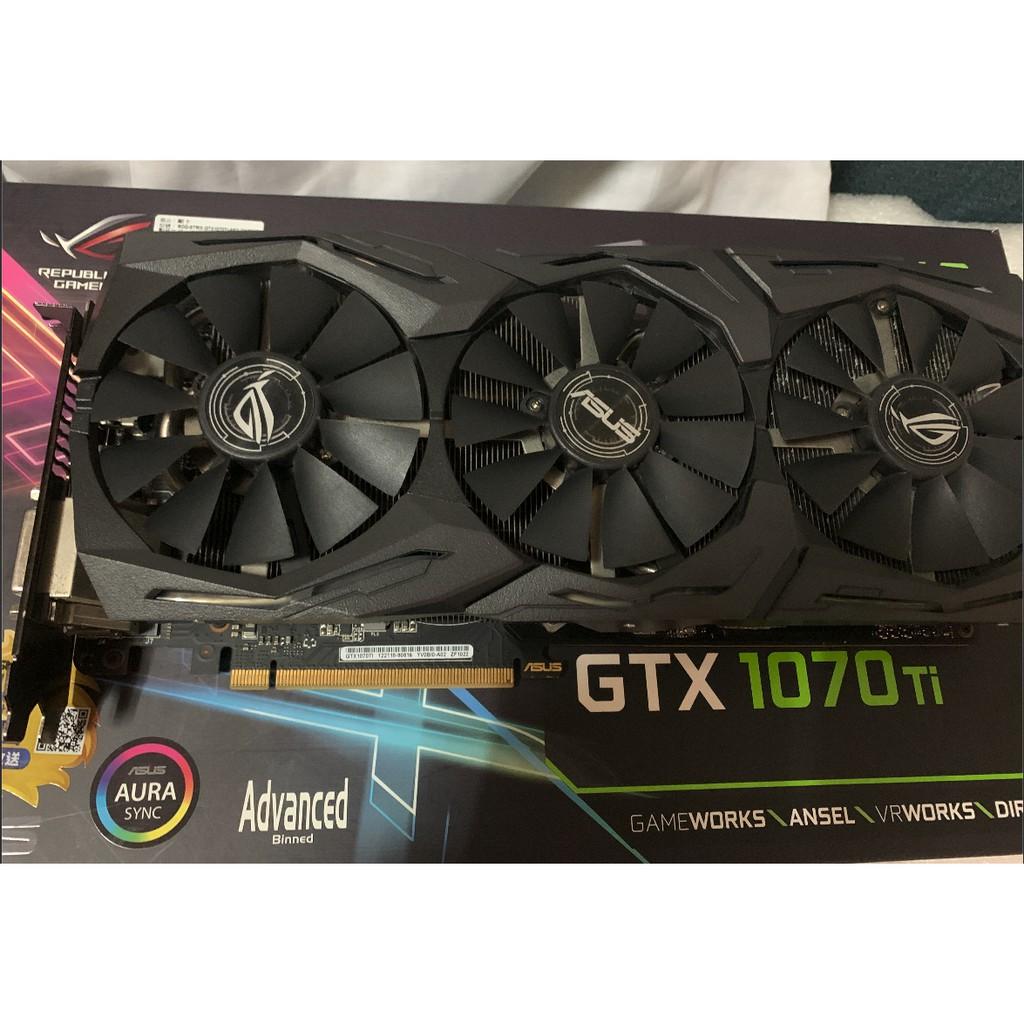 保固內 華碩 ASUS GTX 1070ti ( 1060 1070 1080 1080ti 2060 1660 參考)