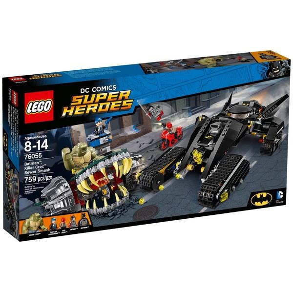 【宅媽科學玩具】樂高LEGO 76055 超級英雄Super Heroes系列 sewer smash