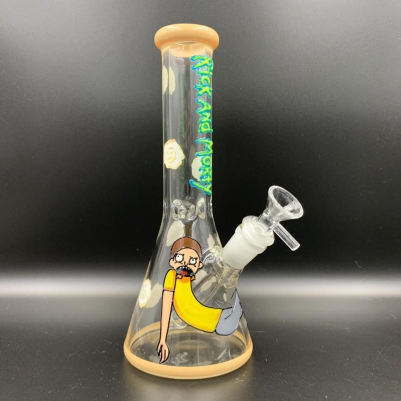 🆕 Rick and Morty 夜光 玻璃 造型 水煙 bong 冰架 過濾