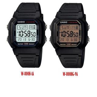 【KAPZZ】卡西歐CASIO腕錶經典造型之一W-800H-1A.W-800HG-9AVDF 防水100M 十年電力 桃園市