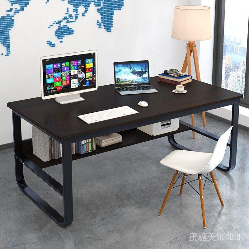 簡易電腦桌台式60/80/90cm100寬書桌120長桌子140公分辦公桌70高 DJ98