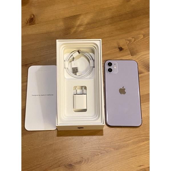 iPhone 11 256g 紫色