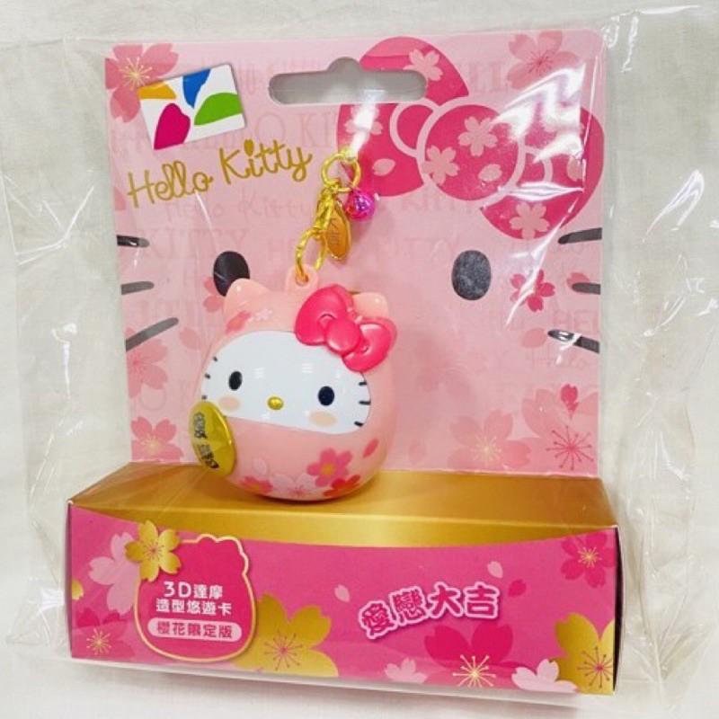限量Hello Kitty 粉色櫻花達摩 悠遊卡(現貨)