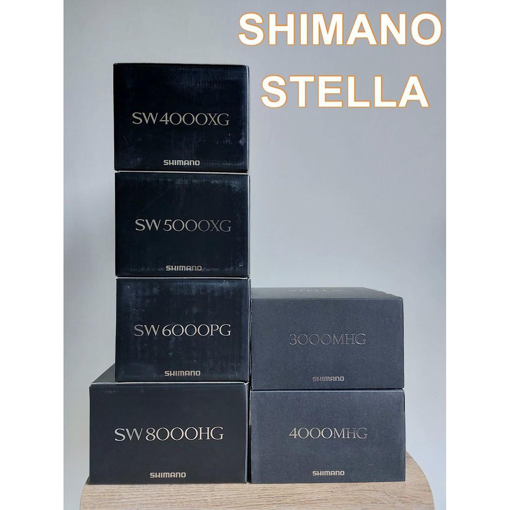 全新現貨 SHIMANO STELLA SW 3000~8000型 捲線器 (台中自取送購物金)