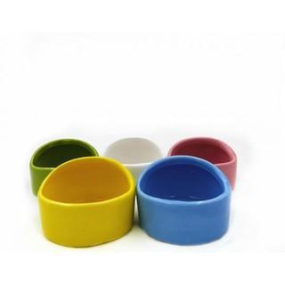 ❤️小皮球❤️倉鼠碗陶瓷食盆金絲熊松鼠刺猬防翻防濺食碗飼料盒寵物用品