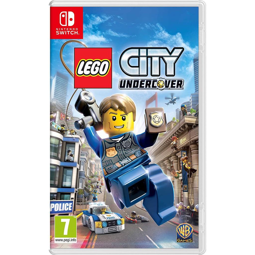 【NeoGamer】 全新現貨 NS Switch 樂高小城 臥底密探 中文版 LEGO  樂高GTA  和諧版GTA