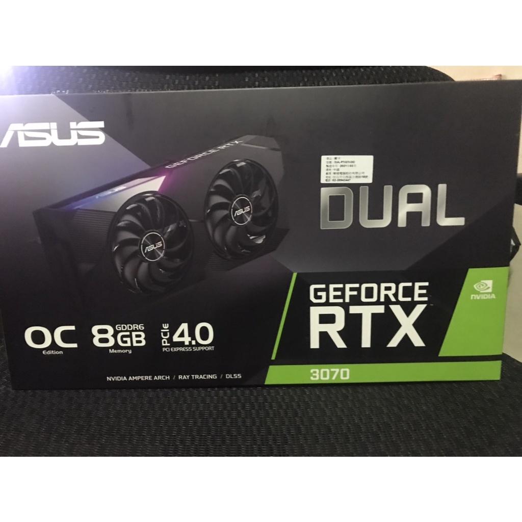ASUS Dual RTX3070全新未鎖