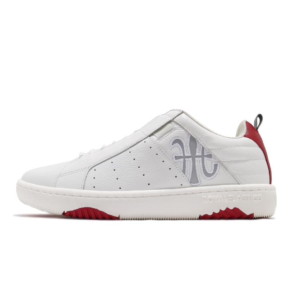 Royal Elastics 休閒鞋 Icon Manhood 2.0 白 紅 男鞋 06502-018 【ACS】