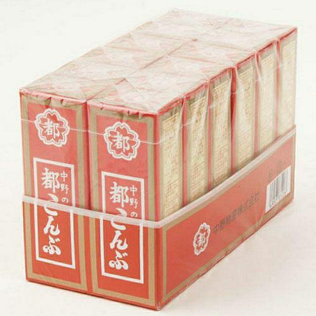 (現貨)日本中野物產 都昆布 醋昆布 12盒入