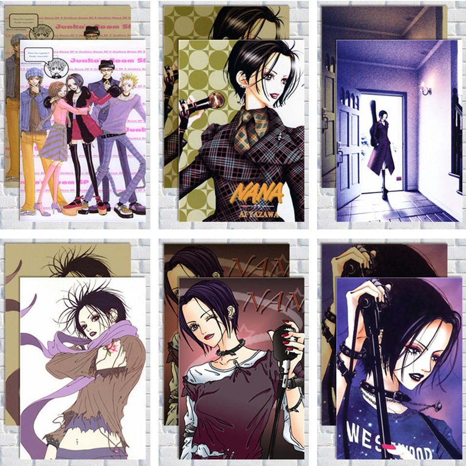 新品 NANA海報 娜娜 少女動畫周邊掛畫日本動漫漫畫卡通 裝飾畫壁畫圖
