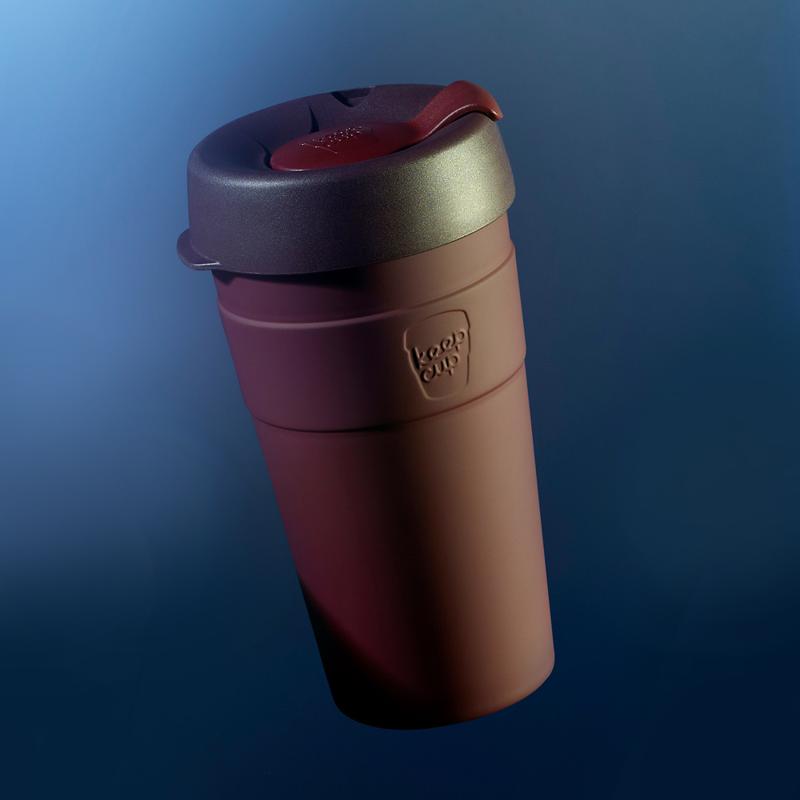 【KeepCup】雙層真空隨身杯(L)甜酒紅