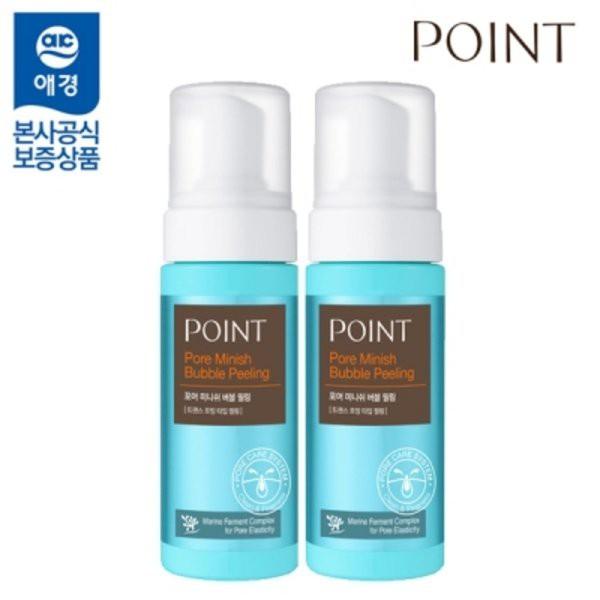 韓國POINT活氧泡泡去角質慕斯150ml 洗臉+去角質