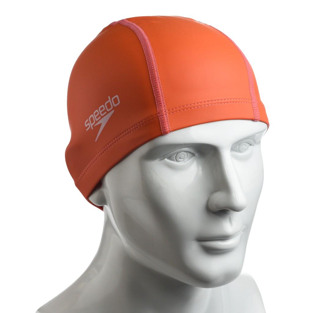 ✨鐘友體育✨現貨 speedo 成人合成泳帽 Pace 橘 SD8720646526D