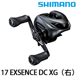 SHIMANO 17 EXSENCE DC XG 電子剎車 [漁拓釣具] [雙軸梭型捲線器]