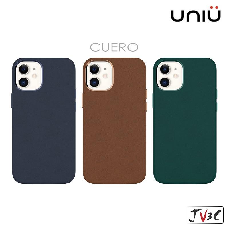 UNIU 皮革 防摔保護殼 適用 iPhone 12 Pro Max i12 Mini 防摔殼 手機殼 保護殼 真皮