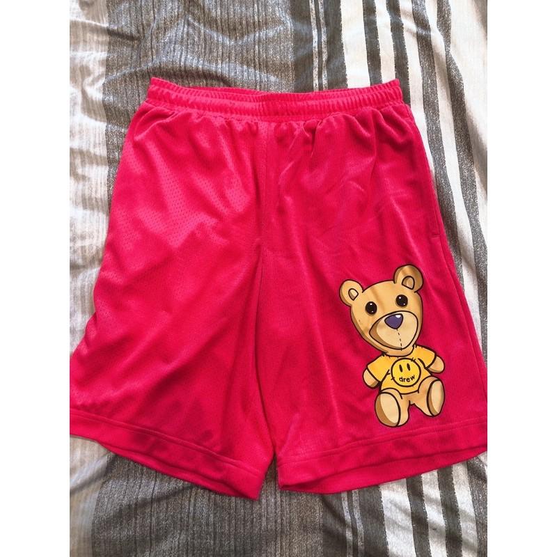 drew house 泰迪熊短褲 球褲 二手