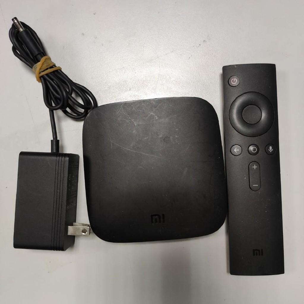 二手 小米盒子國際版(USB孔故障)