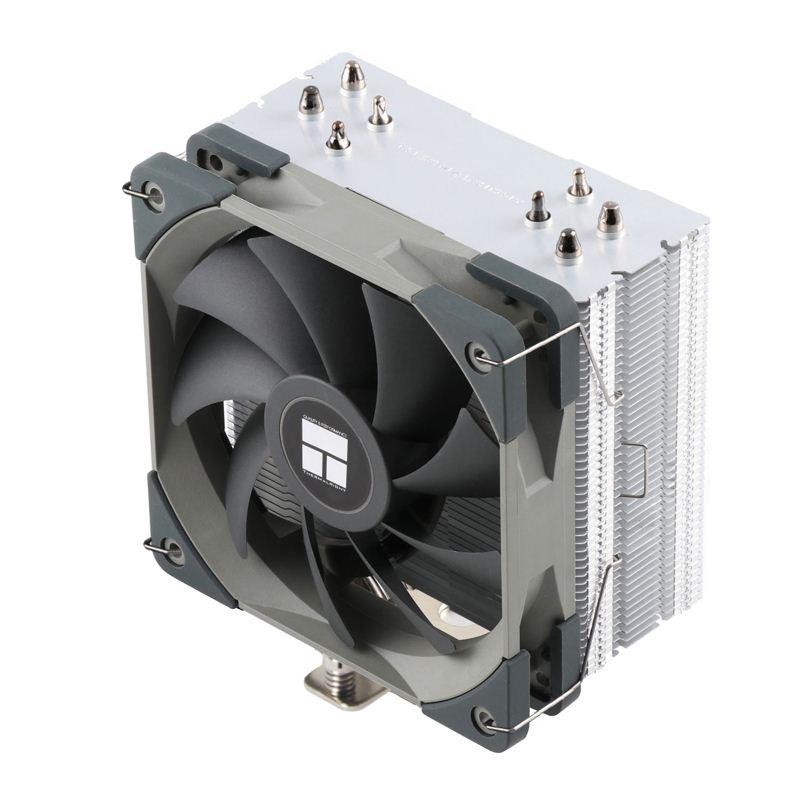 利民AS120/ax120刺靈plus CPU散熱器rgb主機靜音風扇intel amdAM4