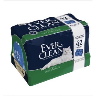 藍鑽 EVER CLEAN -低過敏結塊貓砂(藍標)賣其中一包,共三包 宜蘭縣