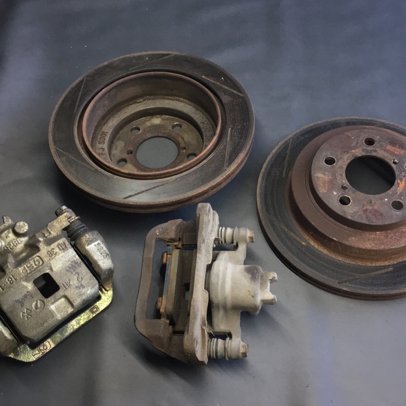 Subaru Impreza gc8 後輪煞車總成 碟盤 分泵 煞車皮