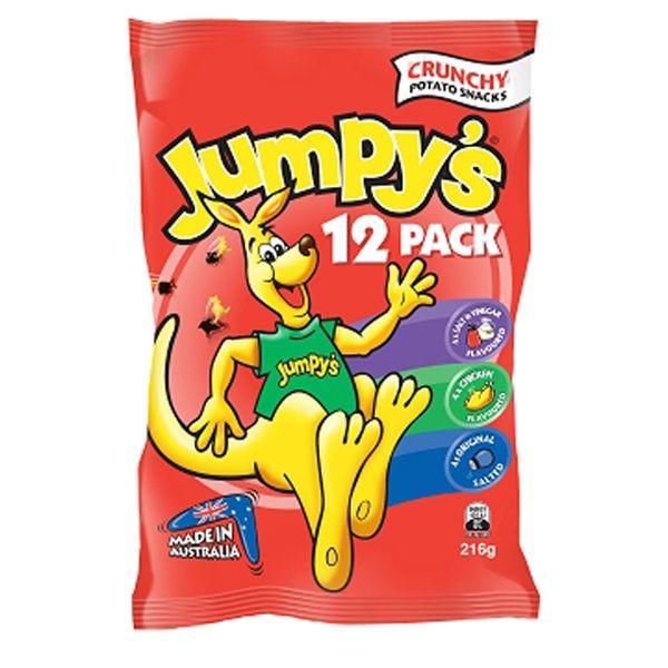 Jumpy's澳洲必買~3D袋鼠歡樂包216g(內含12小袋)另有小包零售18g袋鼠餅乾可選購~! 買多贈多唷