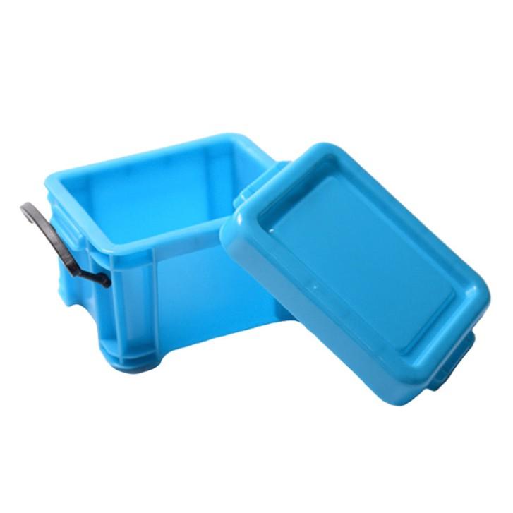 (淡藍色)仿真整理箱 模型 遙控像真用塑料箱 攀岩車飾 心情裝飾 搖控 Bruder SCX10 RC4WD D90參考