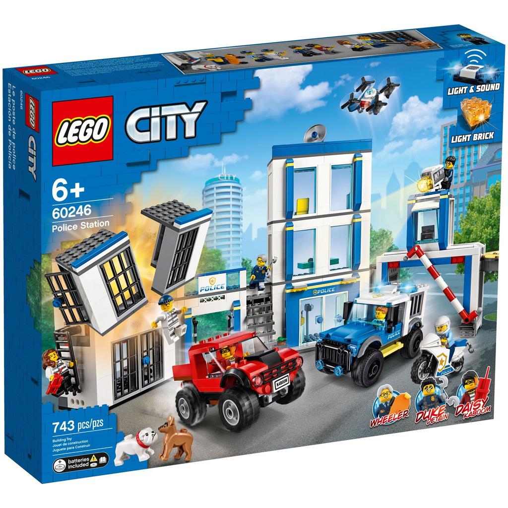 LEGO60246 警察局  ⚡電積系⚡ 樂高 城市系列