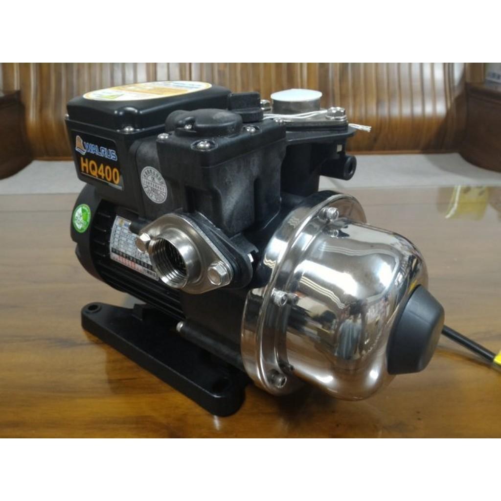 ╭☆優質五金☆╮大井 WALRUS HQ400 1/2HP電子穩壓加壓馬達*加壓機*(白鐵葉輪) HQ400B