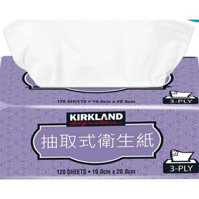 【好市多線上購物】Kirkland Signature 科克蘭 三層抽取衛生紙