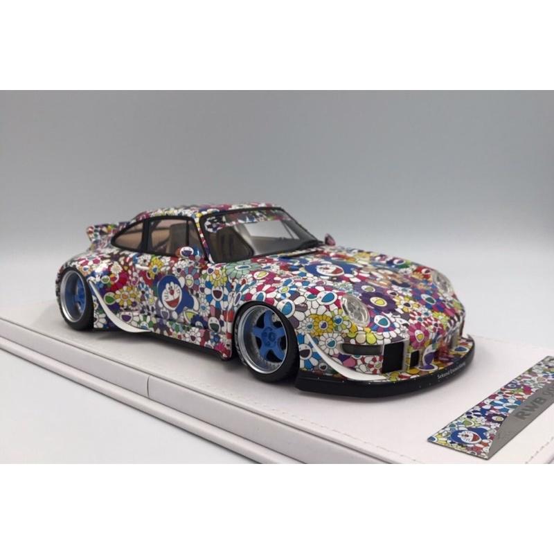 VIP Model Porsche RWB 993 X 太陽花 卡通塗裝