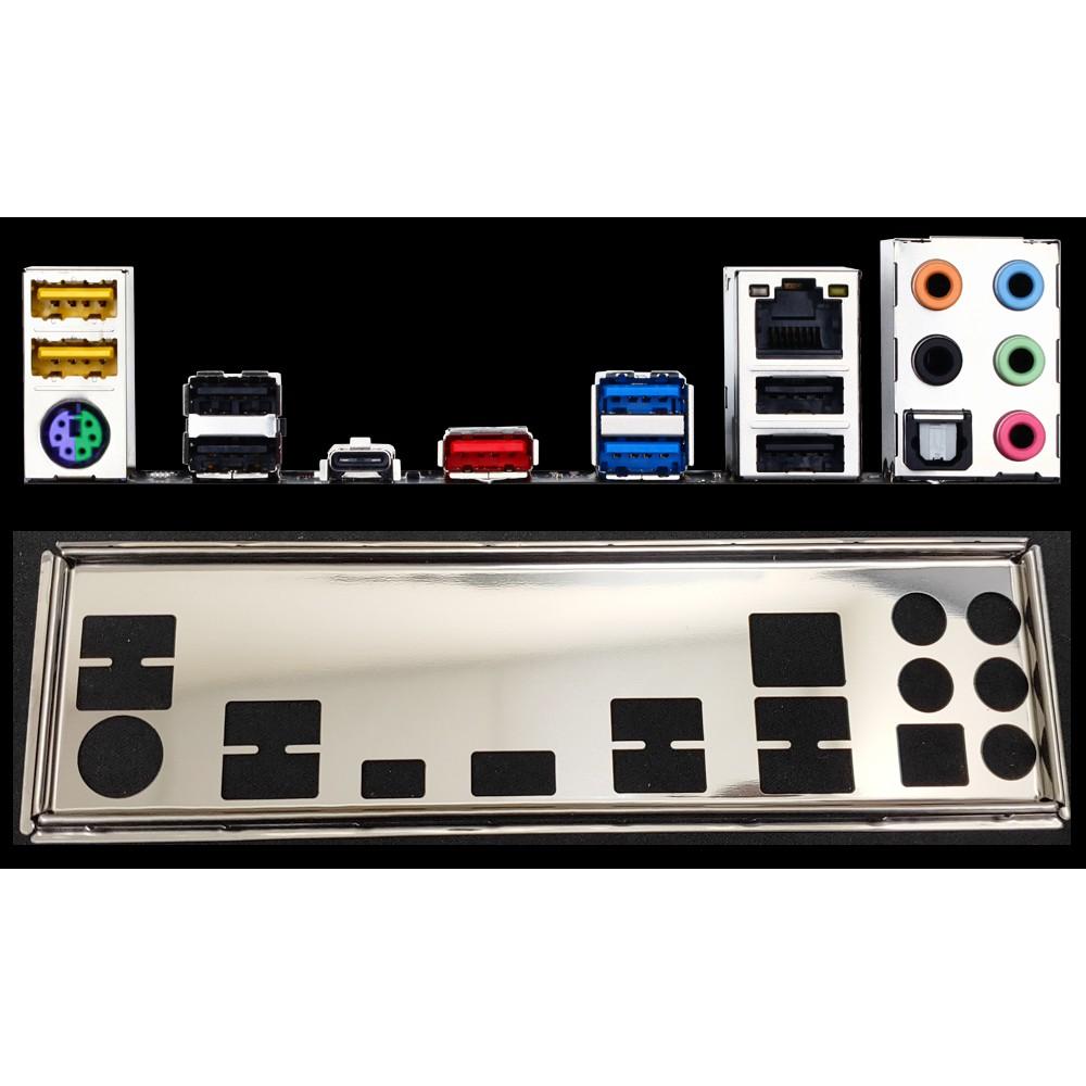 GA 技嘉 GA-970-Gaming、GA 970 Gaming 1:1訂製 不銹鋼 後檔板 後檔片