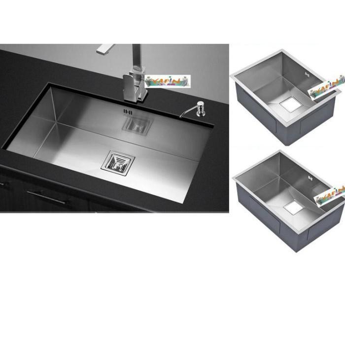 (op小舖)SUS304洗碗槽.水槽.洗菜槽.流理台水槽.手工水槽.不鏽鋼水槽