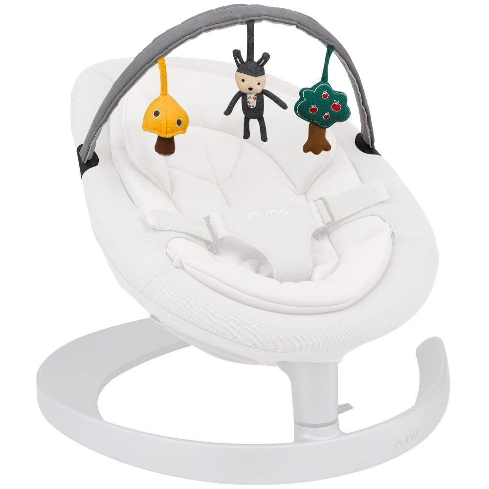 nuna 搖搖椅 荷蘭Nuna Leaf 搖椅配件 玩具桿 蚊帳遮陽篷 嬰兒車配件 防曬蓬  替換裝 全新 新生兒搖椅