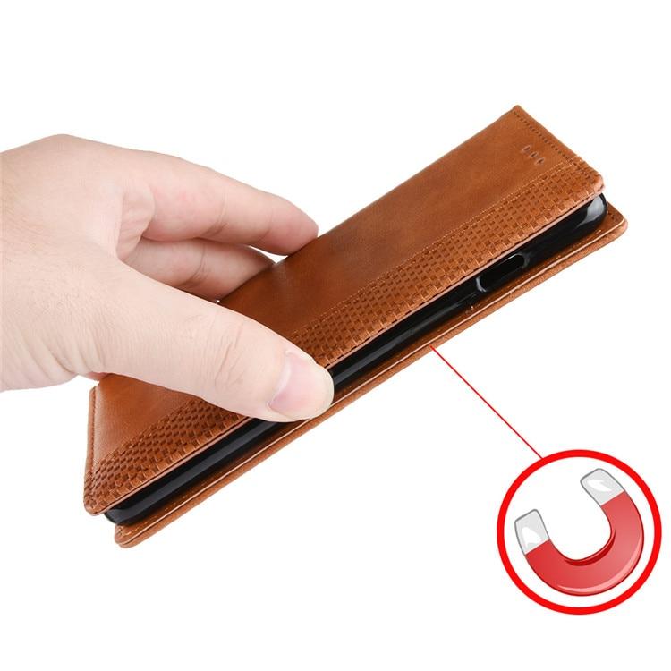 對於 Oneplus Nord N100 Case One Plus Nord N10 N100 錢包翻蓋式皮革手機殼,