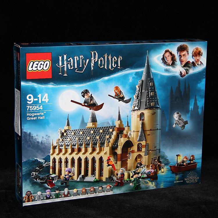 暢銷款LEGO樂高積木玩具75954魔法世界哈利波特霍格沃茨禮堂