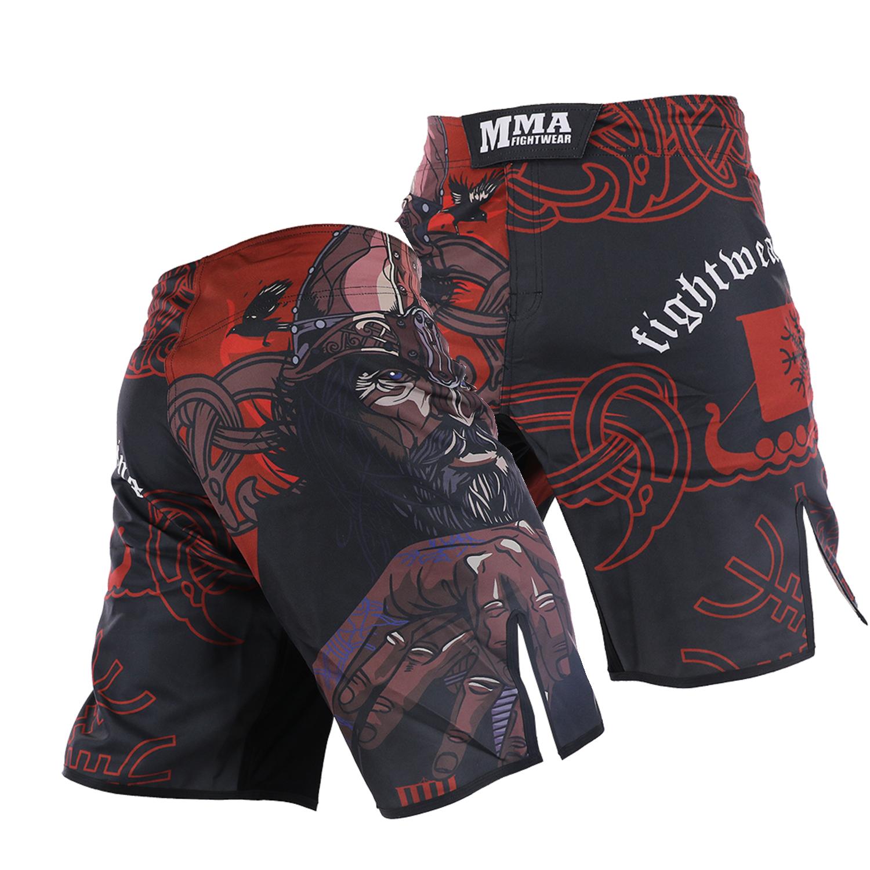 ARFIGHTKING訓練短褲MMA泰拳柔術散打運動短褲UFC綜合格鬥武林風