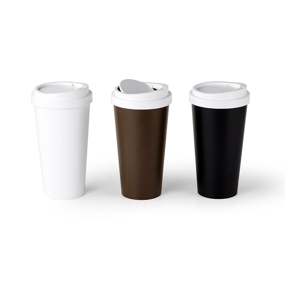 QUALY 迷你隨行杯-垃圾桶 (黑/咖啡/白)