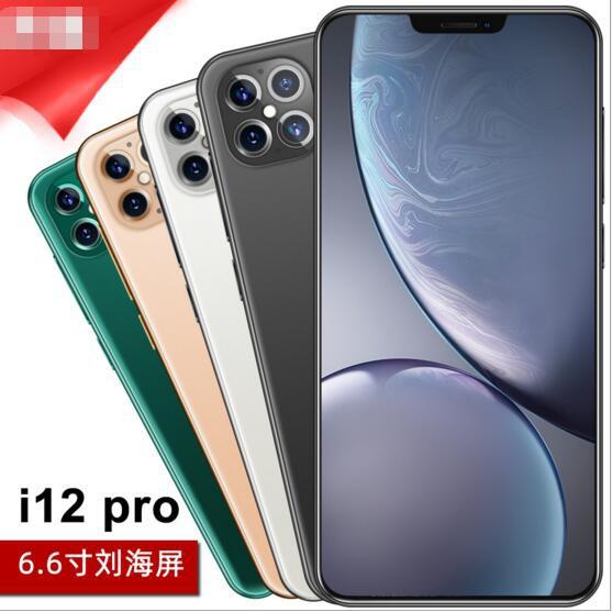 低價下殺~全新 蘋果外款 i12 pro 6.6吋  手機 8G+128G 八核  安卓系統  智能手機 #13551