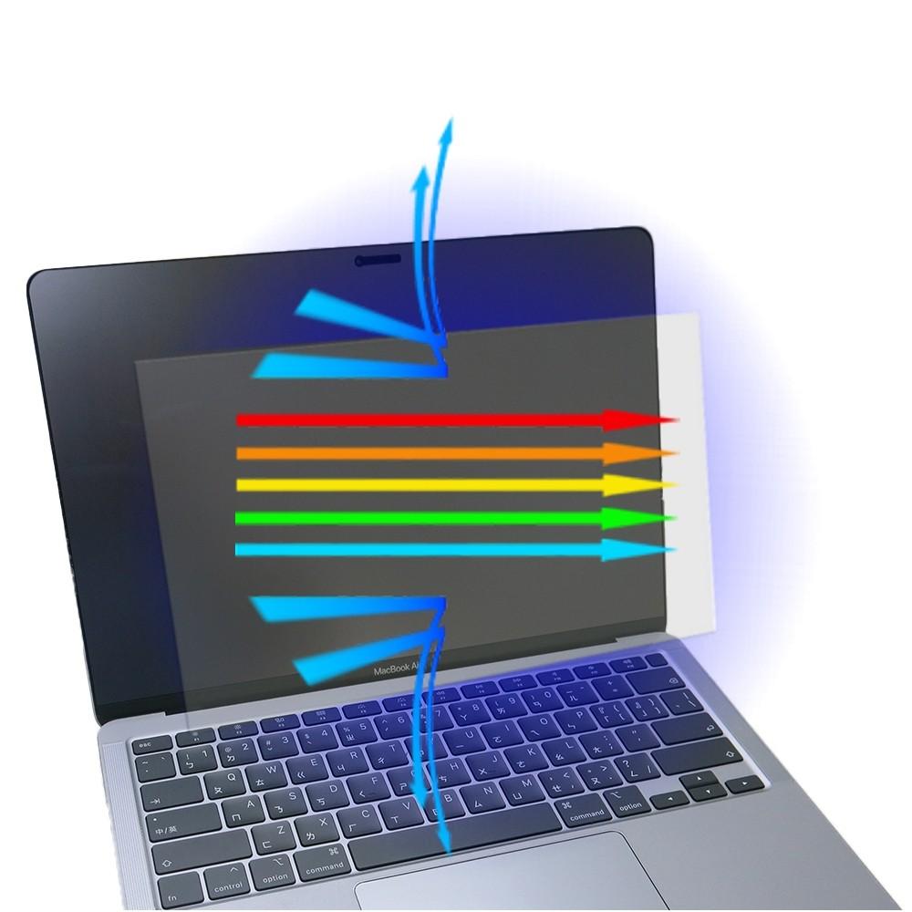 【Ezstick】APPLE MacBook Air 13 A2337 M1 防藍光螢幕貼 (可選鏡面或霧面)