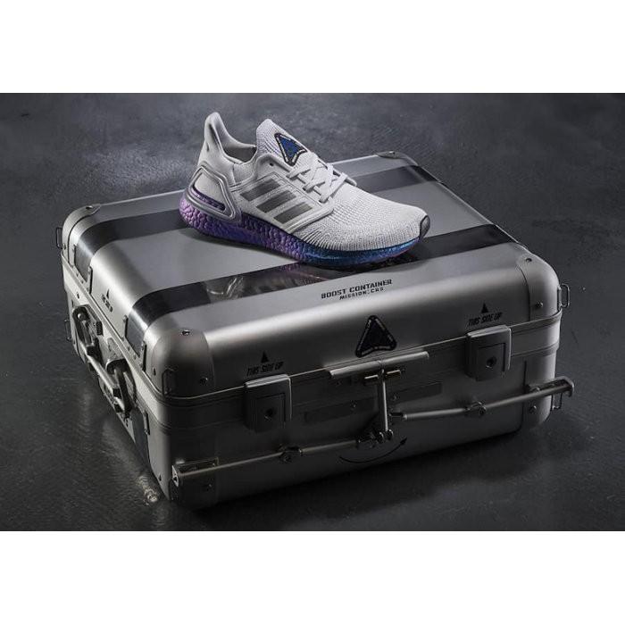 "Adidas Ultraboost 20 ""Space Race"" 灰 藍 宇宙 EG0755"
